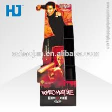 Dvd Display Stands Impressive Portable Point Of Sale Cardboard Display StandAdvertising Retail