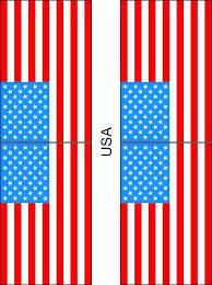 american template american flag blank template star stars us reusable stencil