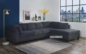 newton sectional sofa dark grey