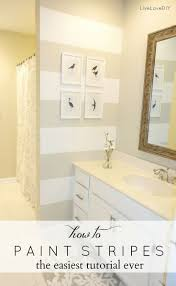 Bathroom Wall Paint 25 Best Striped Bathroom Walls Trending Ideas On Pinterest