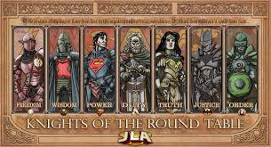 jla knights of the round table by thecomicfan jpg