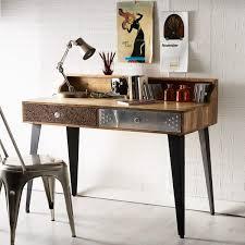 reclaimed oak furniture. Sorio Reclaimed Furniture Console Table / Writing Desk Oak