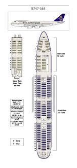Saudi Arabian Airlines Boeing 747 300 Aircraft Seating Chart