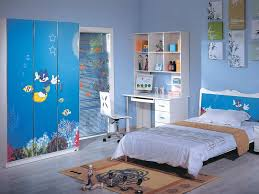 blue childrens bedroom furniture