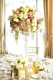cool and ont chandelier centerpieces wedding wegoconcerts com for weddings candelabra with gold accents flowers decorations
