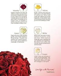 Passion Growers Rose Color Guide Helps Find The Perfect