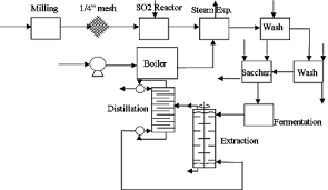 Process Design Butanol Production From Biomass
