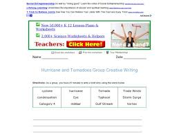 Venn Diagram Comparing Tornadoes And Hurricanes Tornado Lesson Plans Worksheets Lesson Planet