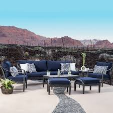 architecture blue patio chairs house navy cushions arelisapril regarding 4 from blue patio chairs