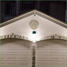outdoor flood lights plug in security light over a driveway