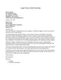Law Cover Letter Under Fontanacountryinn Com
