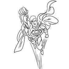 See also coloring pages picture below: Top 30 Free Printable Superman Coloring Pages Online