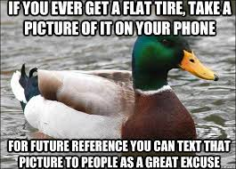 actual-advice-mallard-flat-tire.jpg via Relatably.com