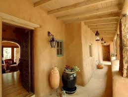 Pueblo-style staircase in Scottsdale, AZ Designed by award-winning  architect Lee Hutchison