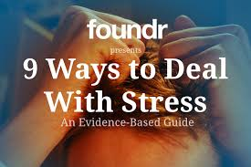 ways successful people deal stress foundr stress post title image