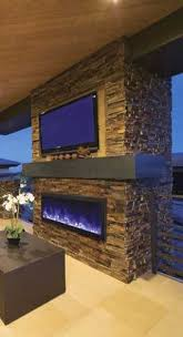 outdoor gas fireplace plans amantii panorama deep 50 built in outdoor electric fireplace w