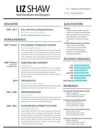 Image Result For Web Designer Resume Graphic Design Pinterest