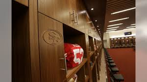 49ers Room Designs 49ers Unveil Levis Stadium Locker Room