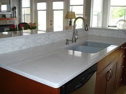 Quartz Kitchen Countertop White Quartz Kitchen Countertops