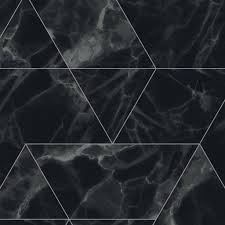 Behang Marble Zwart Vliesbehang 974x280cm 2 Sheets Wonenmetlefnl