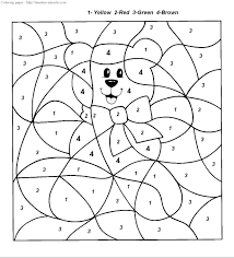 This will start the printing process. Color By Number Christmas Coloring Pages Timeless Miracle Com