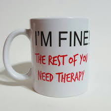 funny office mugs. contemporary funny the rest of you need therapy funny coffee mug gift and office mugs e