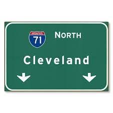 i 71 interstate cleveland ohio oh metal highway sign art steel not tin 36x24 on cleveland metal wall art with i 71 interstate cleveland ohio oh metal highway sign art steel not