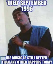 2pac #hiphop #tupac This is TRUE! He actually rapped about real ... via Relatably.com