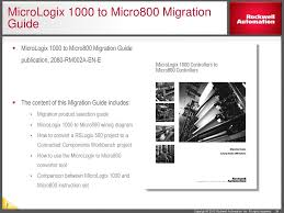 micrologixtm family information ppt video online download Basic Electrical Wiring Diagrams 33 rslogixtm project migrator tool