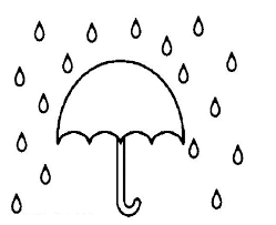 Small Picture Umbrella coloring pages in rain ColoringStar
