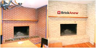 refacing fireplace refcing mke ides reface brick diy modern ideas with concrete refacing fireplace brick