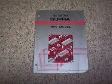 toyota supra wiring diagram ebay 1995 Toyota Supra Wiring Diagram Manual Original 1993 toyota supra factory original electrical wiring diagram manual book Toyota Supra Ignition Wiring Diagram
