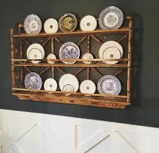 plate racks plate rack wall rustic plates