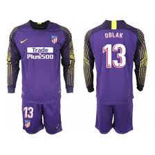 Soccer 70 cheap save Jerseys Club Atletico Jerseys 13 Madrid Goalkeeper Jerseys china Jerseys Youth Sleeve Nfl Cheap To Purple cheap Up Jersey Long 2018-2019