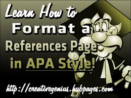 essay basics format a references page in apa style letterpile format a references page in apa style