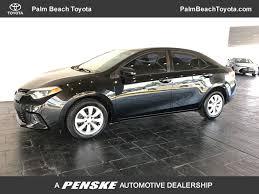 2014 Used Toyota Corolla 4dr Sedan CVT LE at Palm Beach Toyota ...