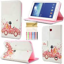 Tablet Cover Design Galaxy Tab 4 7 0 Sm T230 Case Dteck Tm Bling Diamond Design Pu Leather Design Kickstand Flip Folio Protective Cover Case For Samsung Galaxy Tab