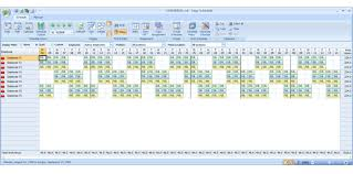 shift work schedules employee scheduling example 8 hr shifts 24 7 4 on 2 off work schedule