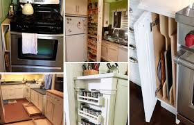 use narrow or dead space in kitchen