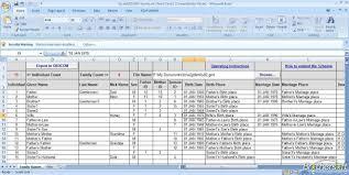 Excel Genealogy Templates Family Tree Templates Download Free Family Tree Templates From