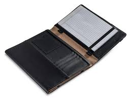 new griffin black leather folio case for ipad 2nd 3rd 4th gen with stand notepad