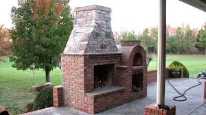 great outdoor fireplace brick oven beautiful wood fired brick pizza oven and fireplace bo by the