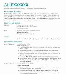 Informatics Analyst Resume Example Alere Health Dallas