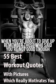 Motivational Workout Quotes Gorgeous 48 Best Workout Quotes With Pictures Which Really Motivates You