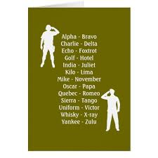 Kids team building activities nato phonetic alphabet alphabet list. Army Soldier Phonetic Alphabet Rookie Military Job Zazzle Com