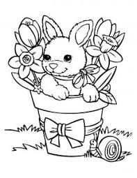 In order to print the desired coloring page, simply click on the thumbnail image link and, on the page which opens, print the coloring page by clicking on the printer icon or on print. Rabbit Free Printable Coloring Pages For Kids