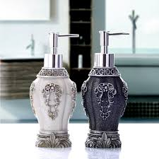 decorative bathroom soap dispensers. contemporary dispensers hand soap dispenser blackwhite liquid lotion for bathroom  throughout decorative dispensers s