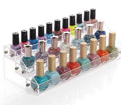 Acrylic Perfume Display Stand Acrylic Cosmetics Nail Enamel Display Box Showing Stand Rack 59