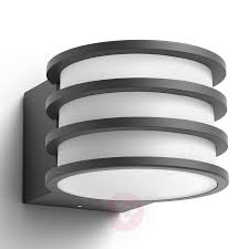 philips hue lucca led outdoor wall lamp 7534048 01