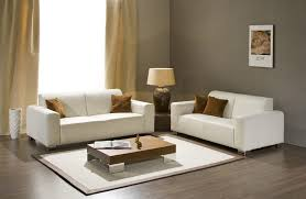 admirable living room furniture sets with corner layout in modern contemporary living room including double white sofa completed with table lamp awesome contemporary living room furniture sets